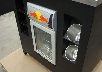 Red Bull Custom Fridge