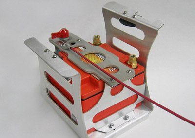 Custom Automotive battery holder for race car