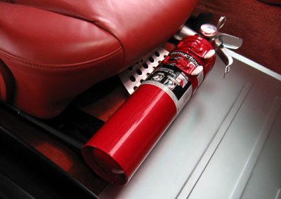 Custom Automotive fire suppressant system