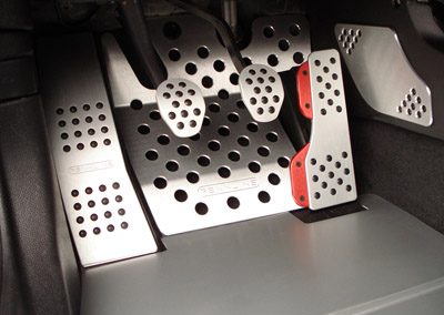 Custom Pedals for sports car