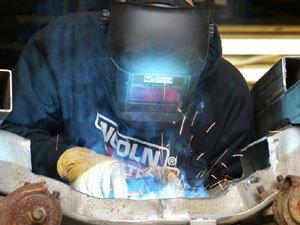 welding custom car